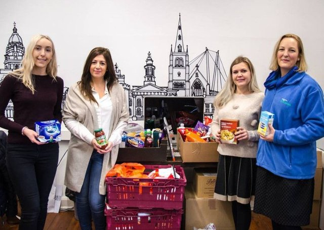 Record Number Of Food Parcels Handed Out In Lancaster And
