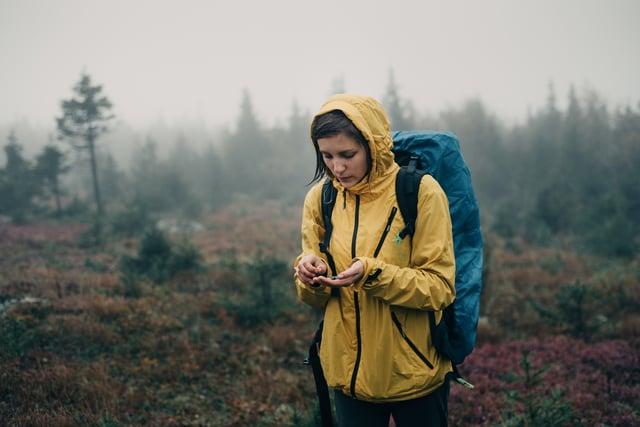 <p>Women's waterproof jacket</p>