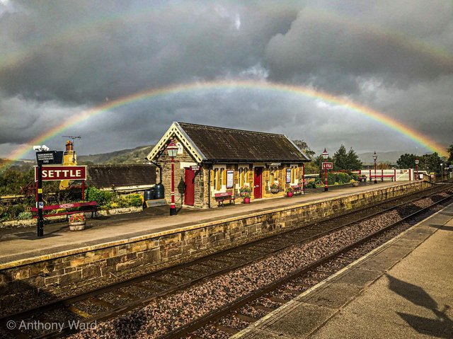 Settle is set to become the UKs first Rainbow Town. Photo by Anthony Ward