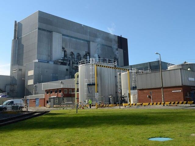 Heysham 1 Power Station.