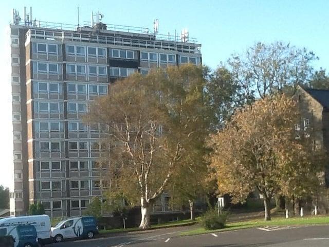 William Thompson Hall at the University of Cumbria in Lancaster.