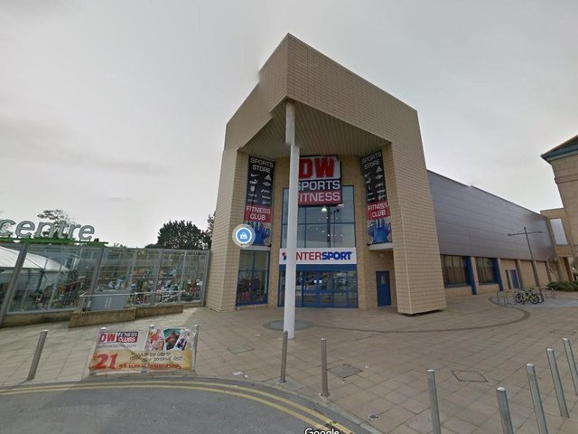 The former DW gym in Morecambe. Photo: Google Street View