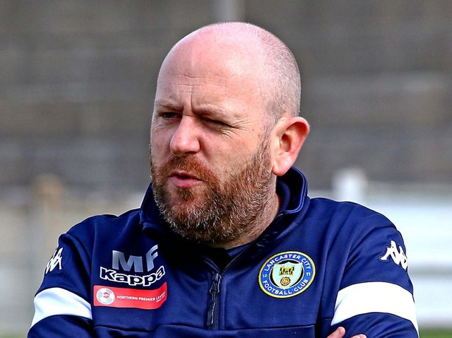 Lancaster boss Mark Fell