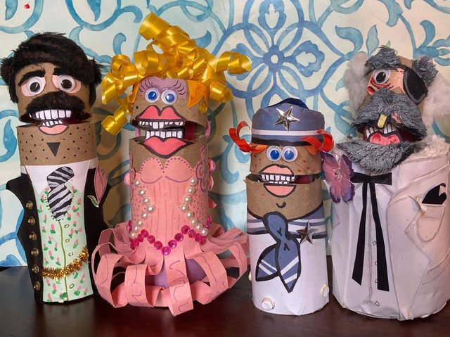 """""""The Two Ply's of Coronet County"""" puppet show is about a family of toilet paper rolls."""