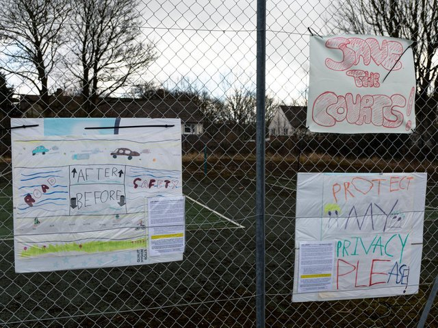 Residents and other members of the public who use the access path are objecting to the plans.