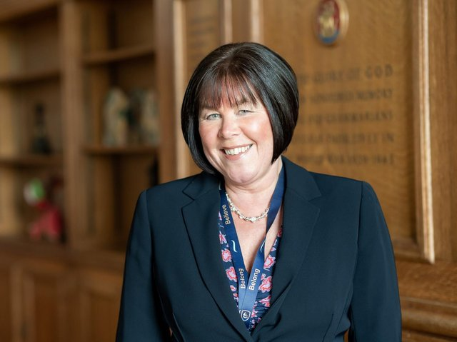 Heather McClurg is the new principal at Morecambe Bay Academy.