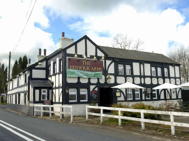 The Fenwick Arms in Claughton.