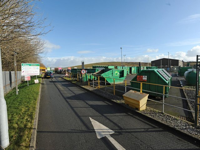 From Monday, March 29, residents will no longer be restricted to one type of waste when they visit their local centre.