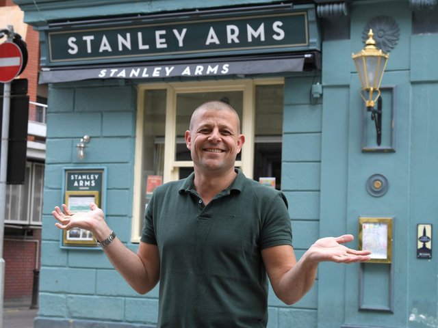 Paul Butcher is looking forward to welcoming customers back to The Stanley Arms, Preston