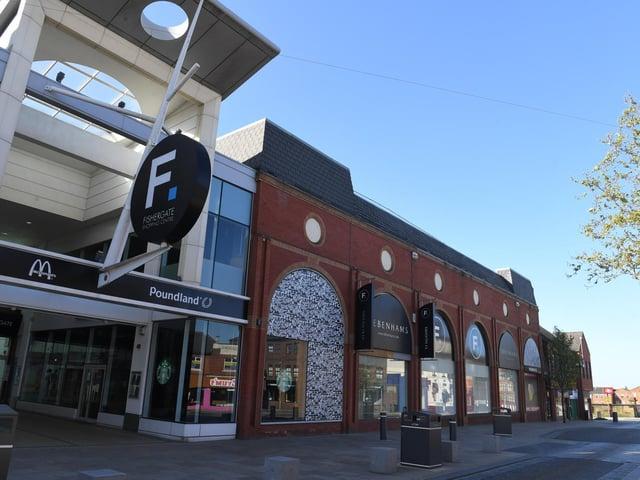 Debenhams in the Fishergate Centre, Preston