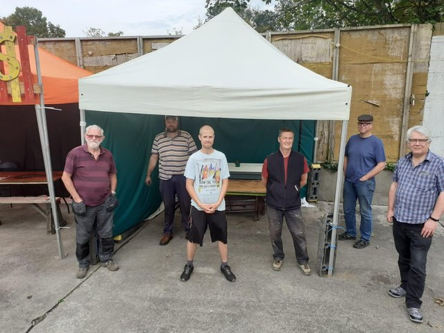 Lancaster Men's Shed community group has launched an appeal for a new permanent home.