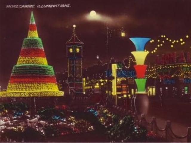 How Morecambe Illuminations used to look.