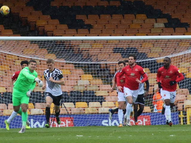 Morecambe suffered defeat at Port Vale