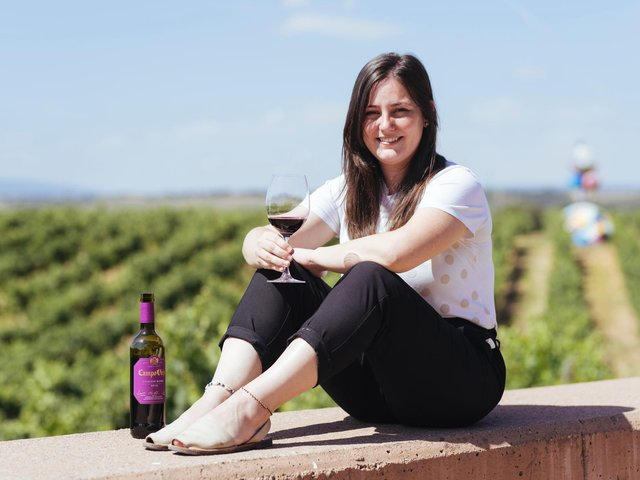 Elena Adell, one of the Campo Viejo winemakers