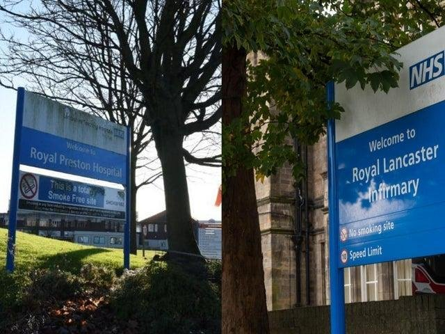 The Royal Preston Hospital and Royal Lancaster Infirmary could be replaced as part of a nationwide hospital-building programme