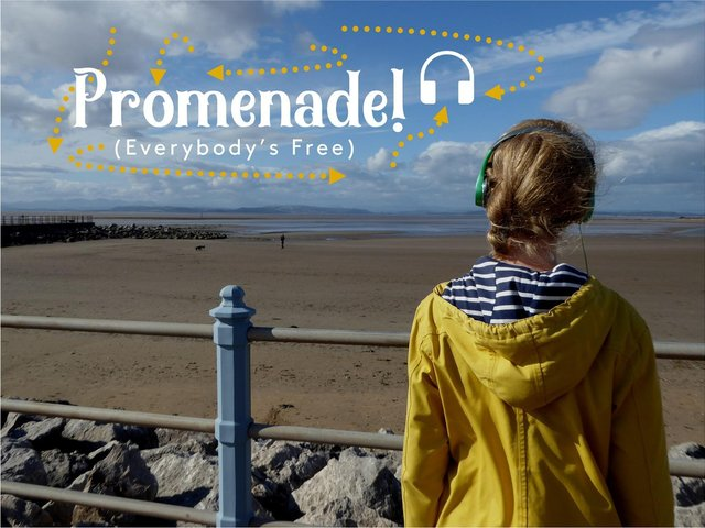Promenade (Everybody's Free) is a new audio experience to enjoy in Morecambe