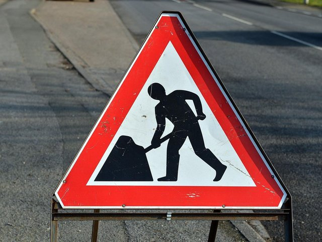 Roadworks in Lancashire over the coming week