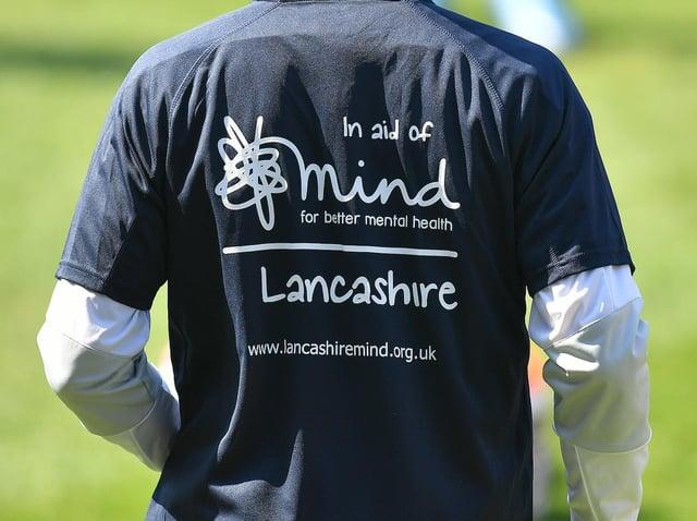 Lancashire Mind shirts were on display during the recent Blackpool v Sunderland match.