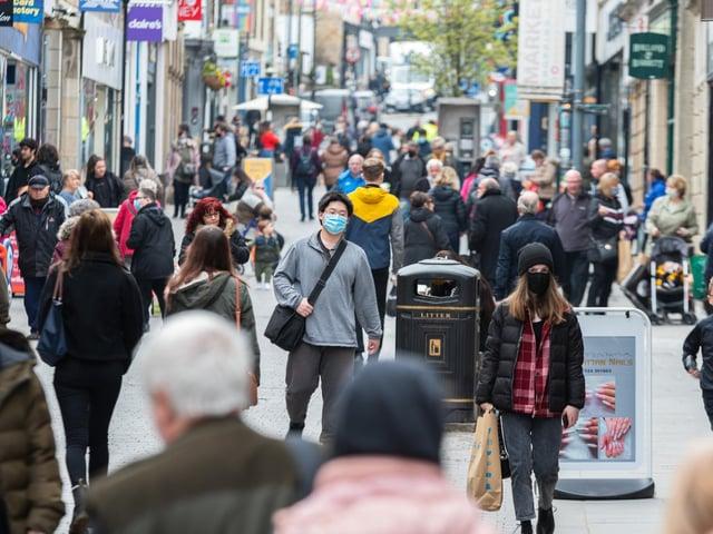 Penny Street in Lancaster
