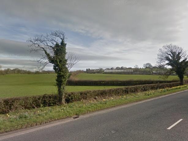 The site in Scotland Road, Carnforth.