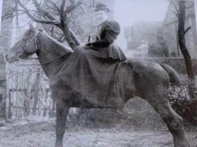 Rose Mary Shackleton, landlady of the New In public house, Wray, circa 1900. Picture courtesy of David Kenyon.