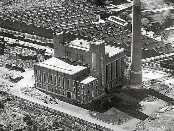 The Williamson Power Station was opened on the Lune Industrial Estate in 1949.