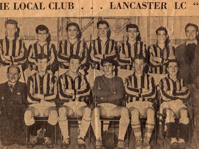 Lads Club Juniors A team 1962-63. Back rwo from left: Norman Corless, J Theobald, Paul Aspinall, Graham Taylor, D Atkinson, Tommy Angus, Jim Atkinson (trainer). Front row from left: Jimmy Birkett (linesman), Chris Denny, Arnold Smith, Dave Lamb, D Ashton, Johnny Young.