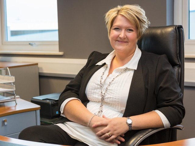 Vicky Lofthouse, Chamber CEO.