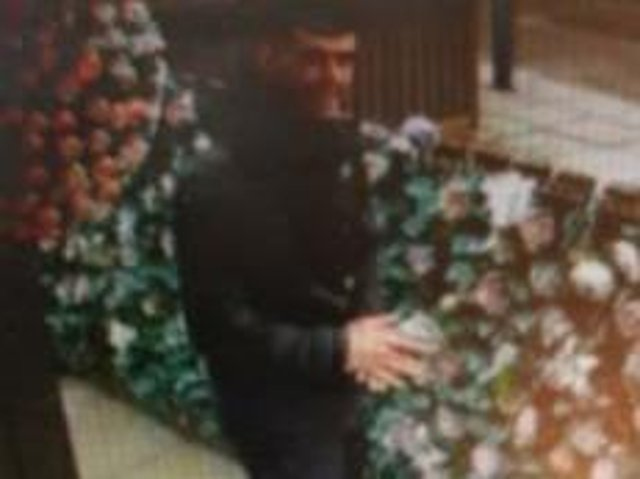 Lancaster Police want to trace this two male following a racially aggravated public order incident