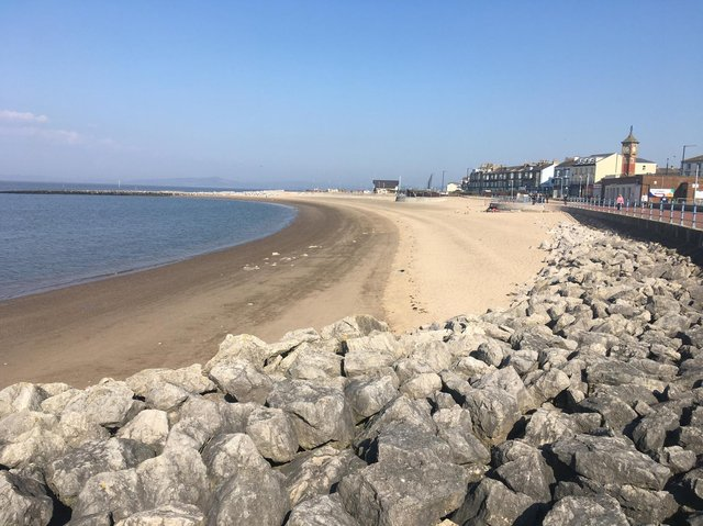 The annual dog beach ban is due to come into force in Morecambe from May 1.