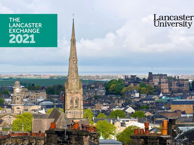 The Lancaster Exchange, a virtual and interactive event organised by Lancaster University, will take place on Thursday, May 13.