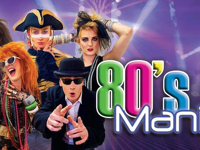 80's Mania comes to Lancaster Grand Theatre in June.
