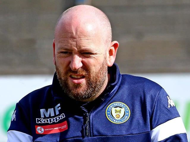 Lancaster manager Mark Fell (photo:Tony North)