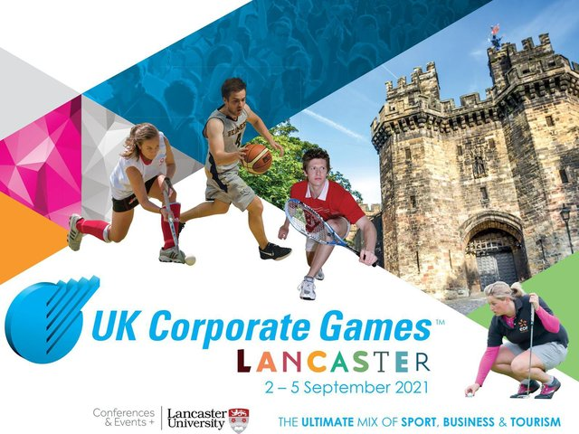 The UK Corporate Games is coming to Lancaster in September.