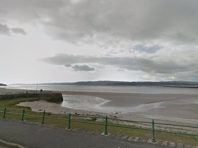 Fancy a naked walk across the bay? Photo: Google Street View