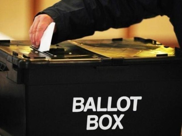 It's voting day across the country today for county council elections.