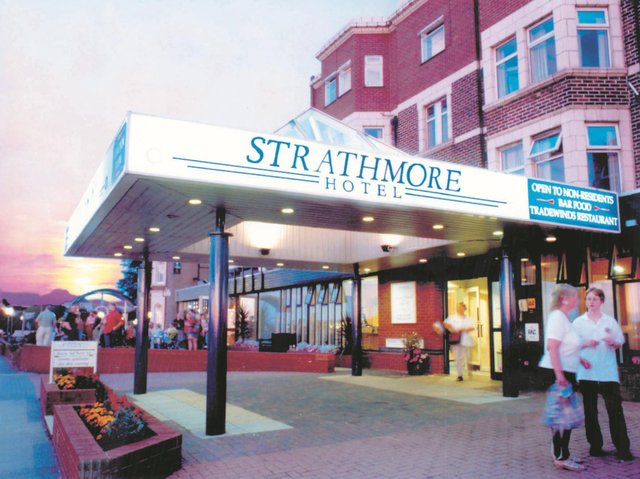 The Strathmore Hotel is set to re-open in June.