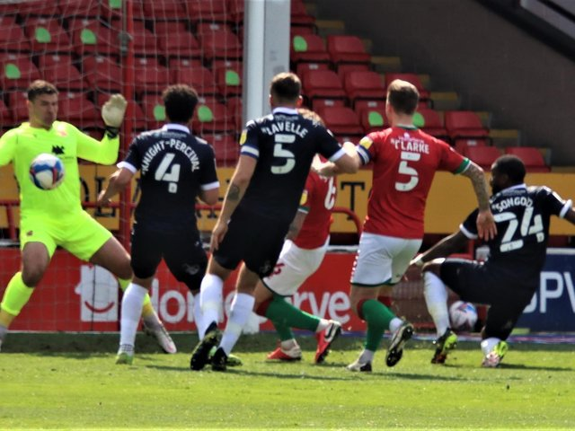 Morecambe's promotion fight goes down to tomorrow's last match of the season