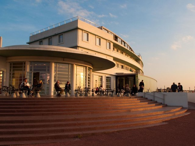 The Midland Hotel in Morecambe.