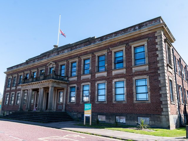 Morecambe Town Hall.