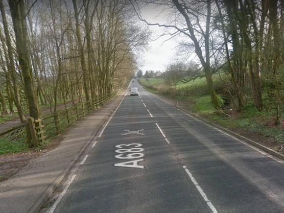The A683 near Caton. Image courtesy of Google Streetview.