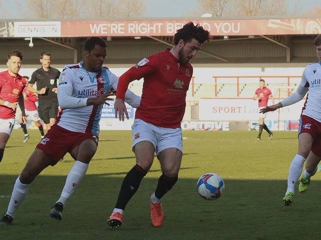 Morecambe's record-breaking season has been largely played out in front of empty seats and terraces