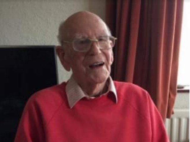 Ronnie Tomlinson will be 100 on May 19.