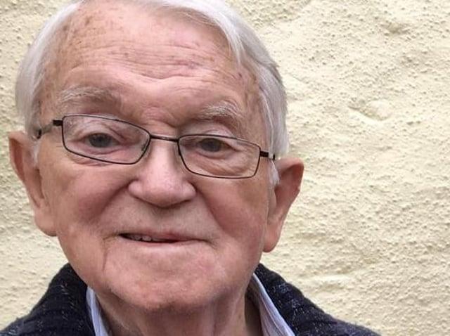 Tom Hanley will be celebrating his 100th birthday on