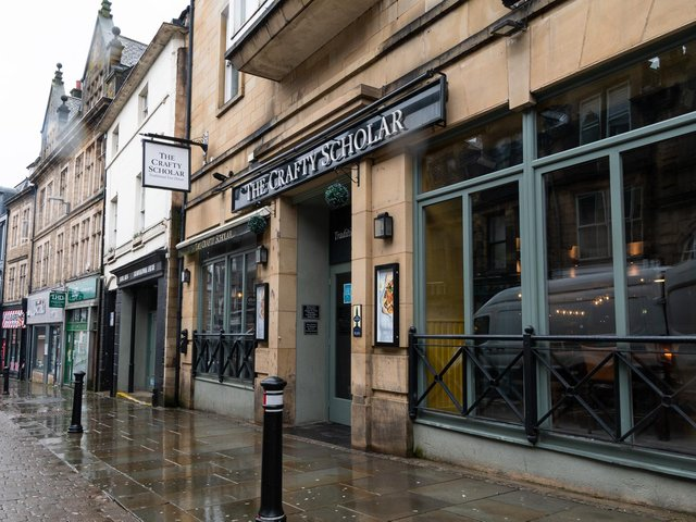 The Crafty Scholar in Lancaster. Lancaster City Council are asking the public to 'play your part' as pubs and restaurants reopen. Photo: Kelvin Stuttard