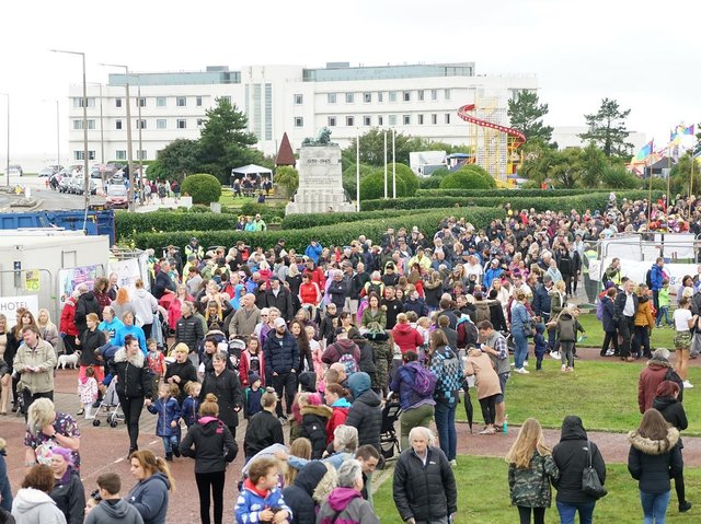 Crowds at Morecambe Carnival. Picture by Morecambe Carnival.