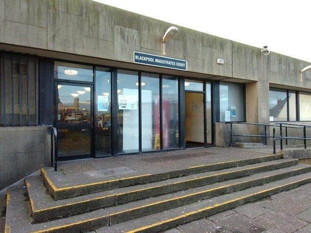 Blackpool Magistrates' Court.