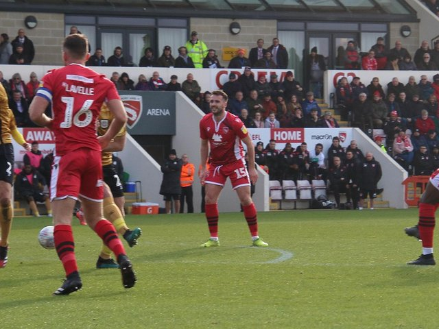 Morecambe's draw with Crewe Alexandra in February 2020 was their last home game in front of supporters