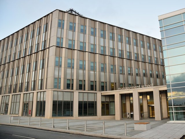 The new building at Lancaster University