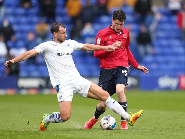 Morecambe and Tranmere Rovers lock horns again in tomorrow's play-off final second leg